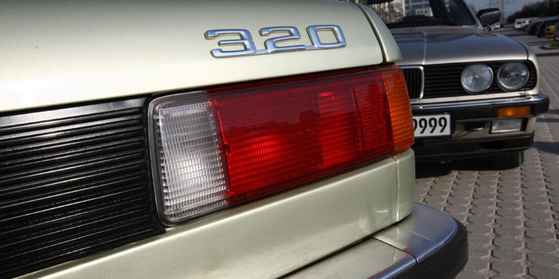 BMW 320 Baur Topcabriolet (TC1), Baujahr 1979, Rücklichter