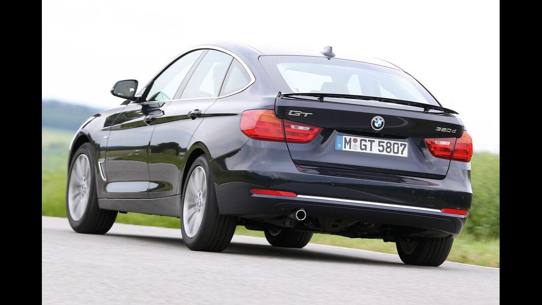 BMW 320 Gran Turismo, Heckansicht