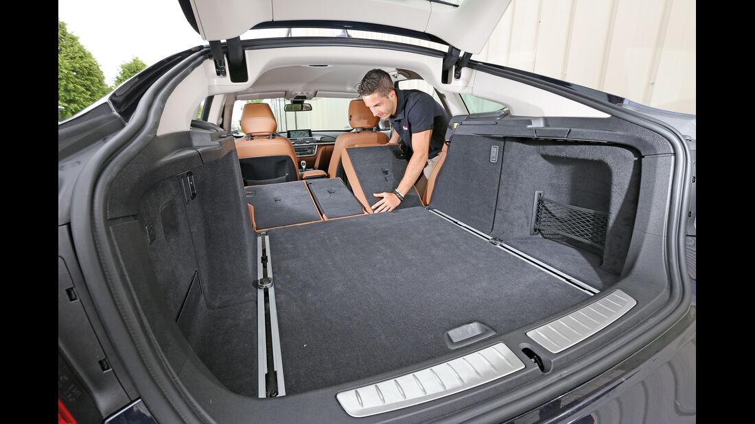 BMW 320 Gran Turismo, Kofferraum, Ladefläche