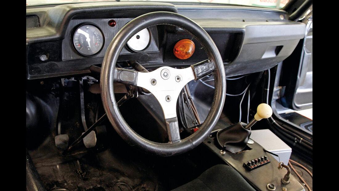 BMW 320 Gruppe 5, Cockpit, Lenkrad
