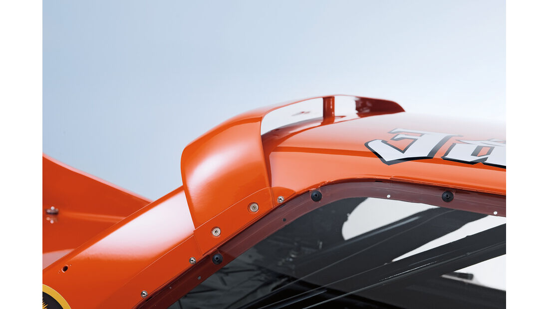 BMW 320 Turbo Gruppe 5, C-Säule, Spoiler