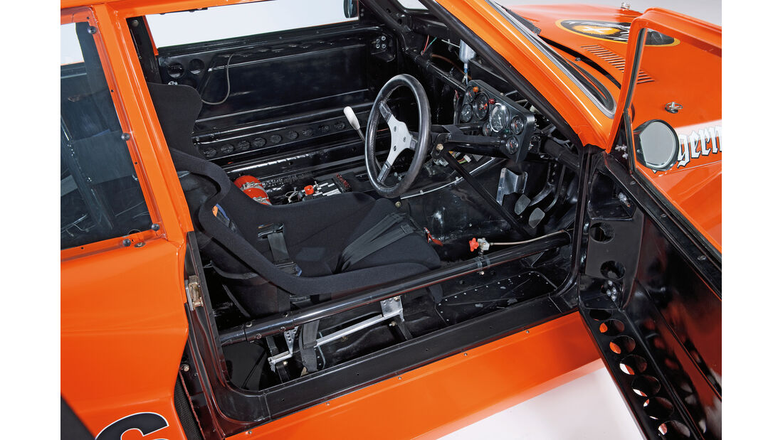 BMW 320 Turbo Gruppe 5, Cockpit, Fahrersitz