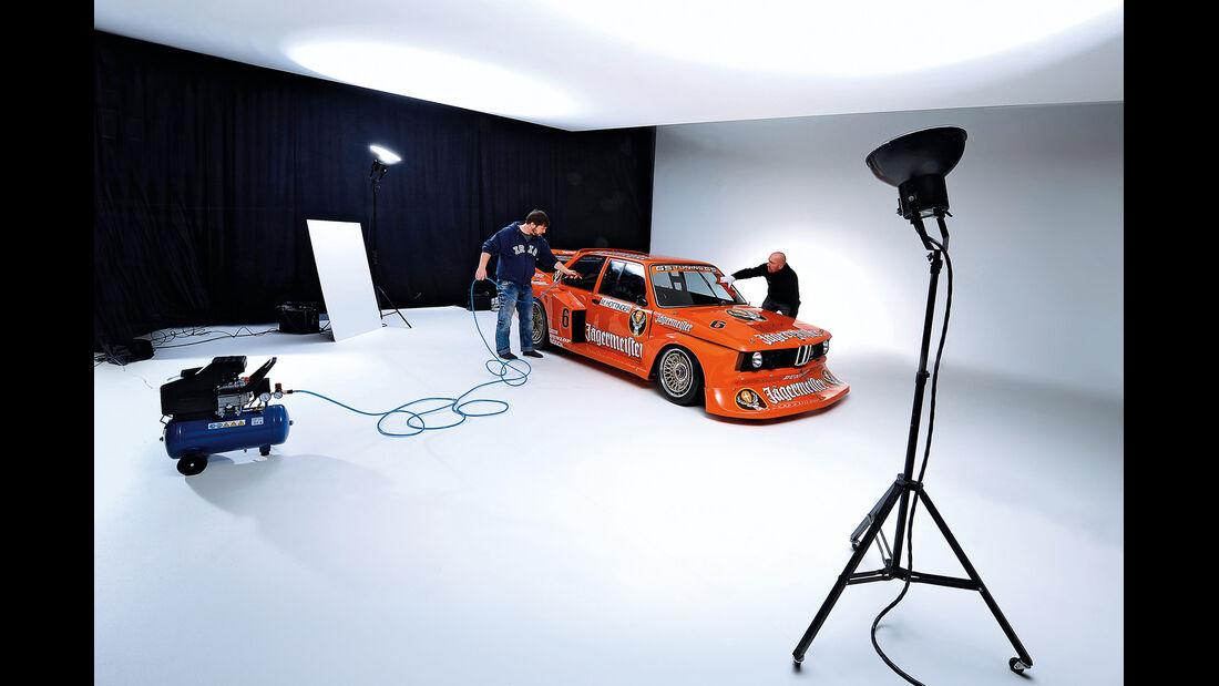 BMW 320 Turbo Gruppe 5, Fotostudio