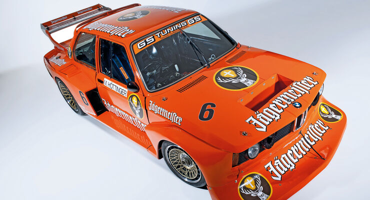 BMW 320 Turbo Gruppe 5, Frontansicht