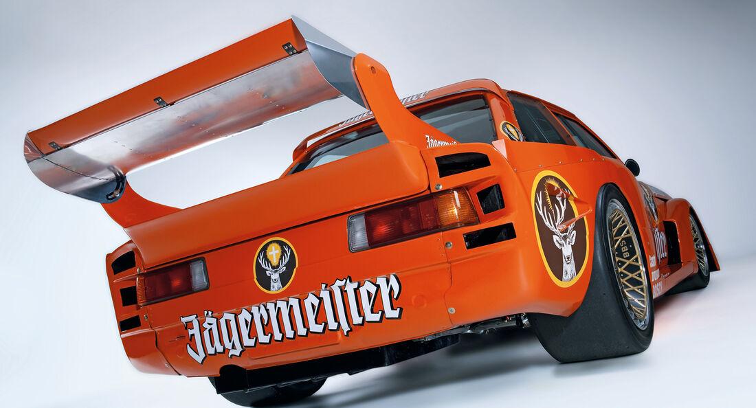 BMW 320 Turbo Gruppe 5, Heckspoiler, Heckansicht