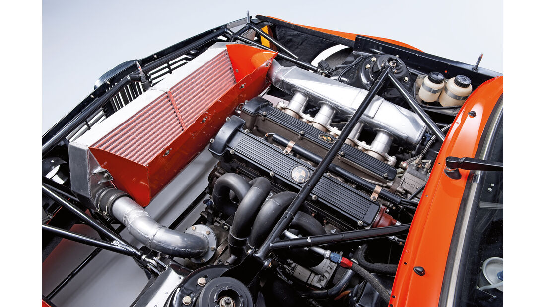 BMW 320 Turbo Gruppe 5, Motor