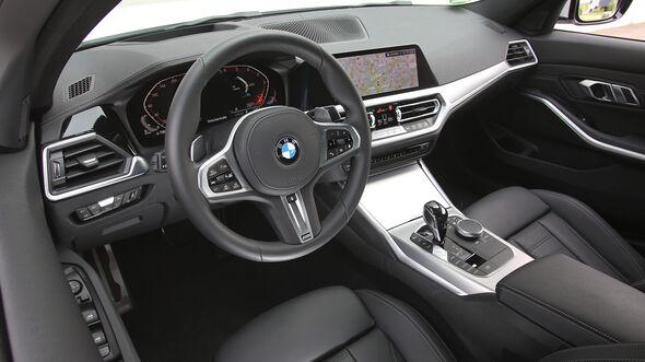 BMW 320 d, Interieur