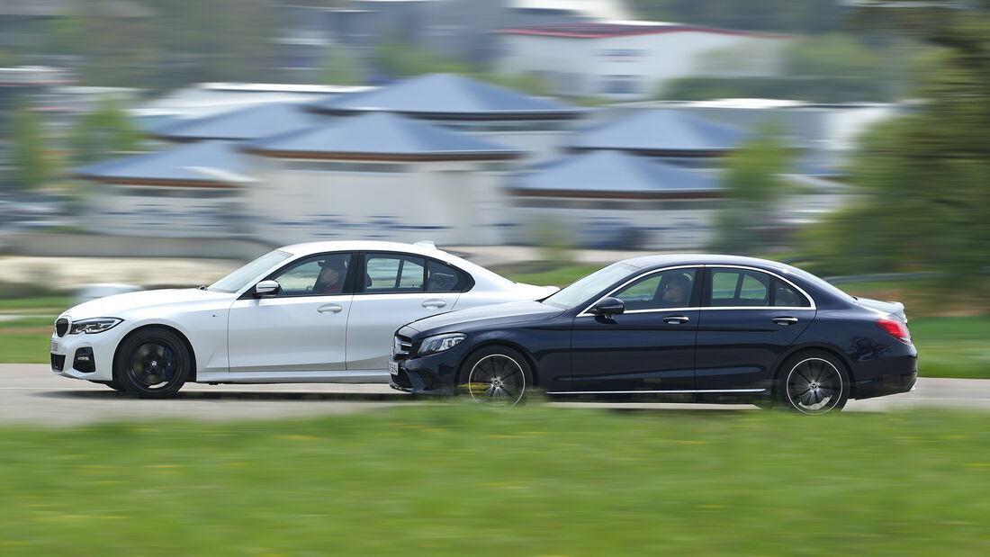 BMW 320 d, Mercedes C 220 d, Exterieur