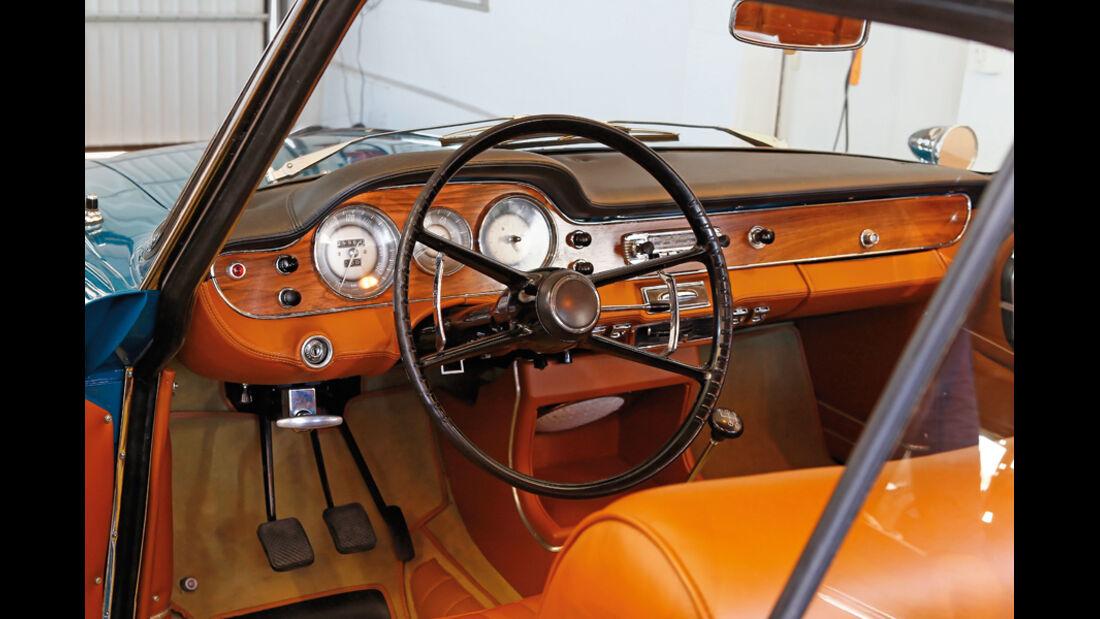 BMW 3200 CS, Innenraum