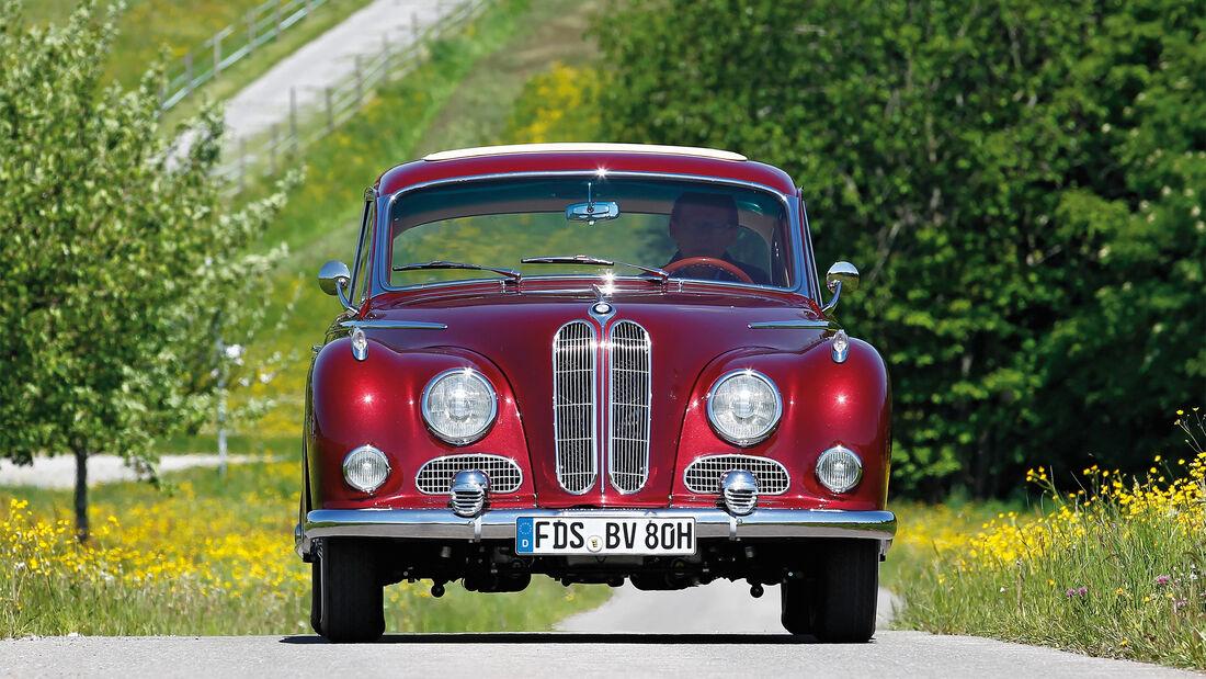 BMW 3200 S, Frontansicht