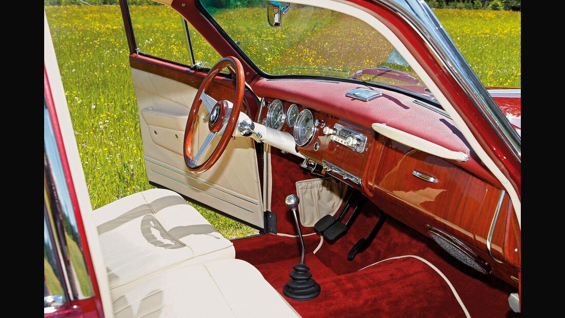 BMW 3200 S, Interieur, Cockpit