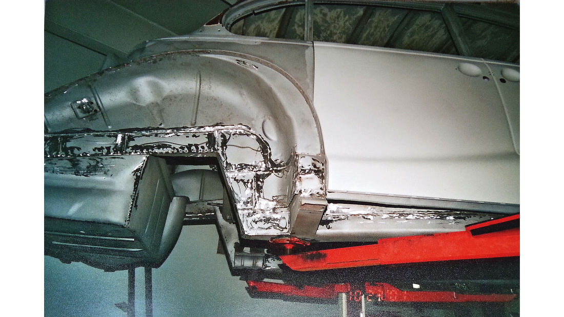 BMW 3200 S, Rahmen