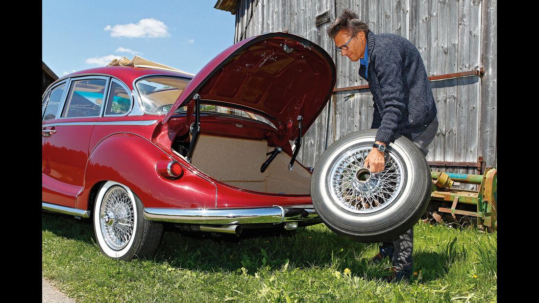 BMW 3200 S, Speichenrad