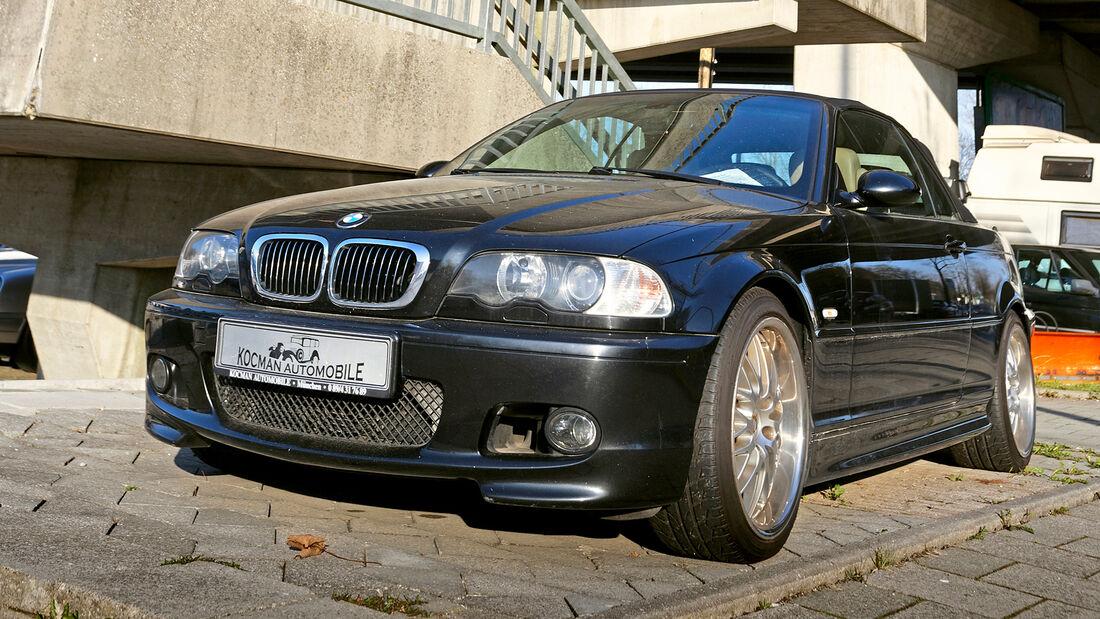 BMW 320Ci, Cabrios vom Kiesplatz