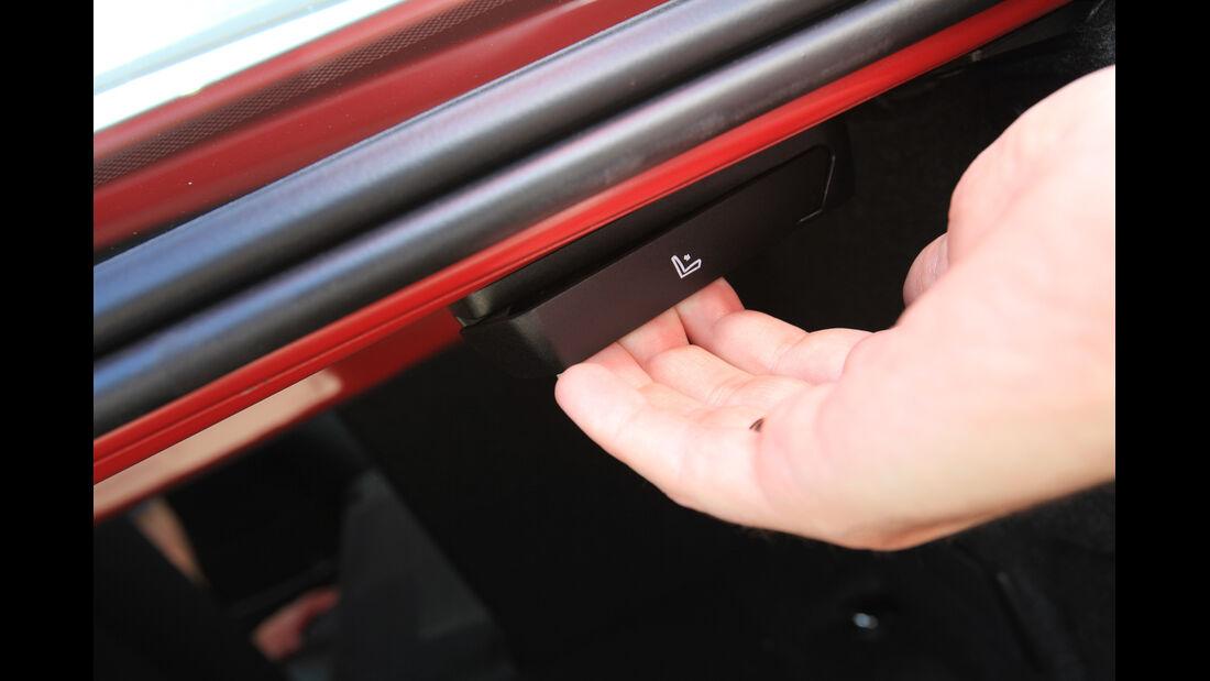 BMW 320d Automatik, Bedienelement