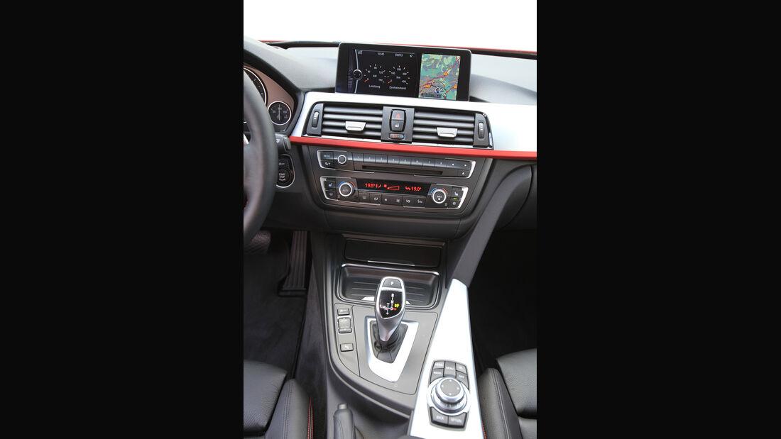 BMW 320d Automatik, Mittelkonsole