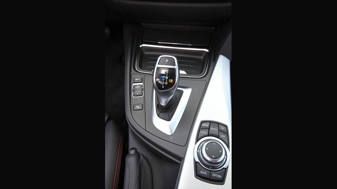 BMW 320d Automatik, Schalthebel, Schaltknauf