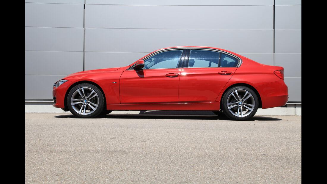 BMW 320d Automatik, Seitenansicht