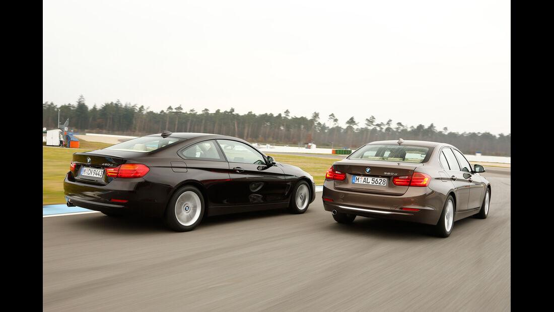 BMW 320d, BMW 420d, Heckansicht