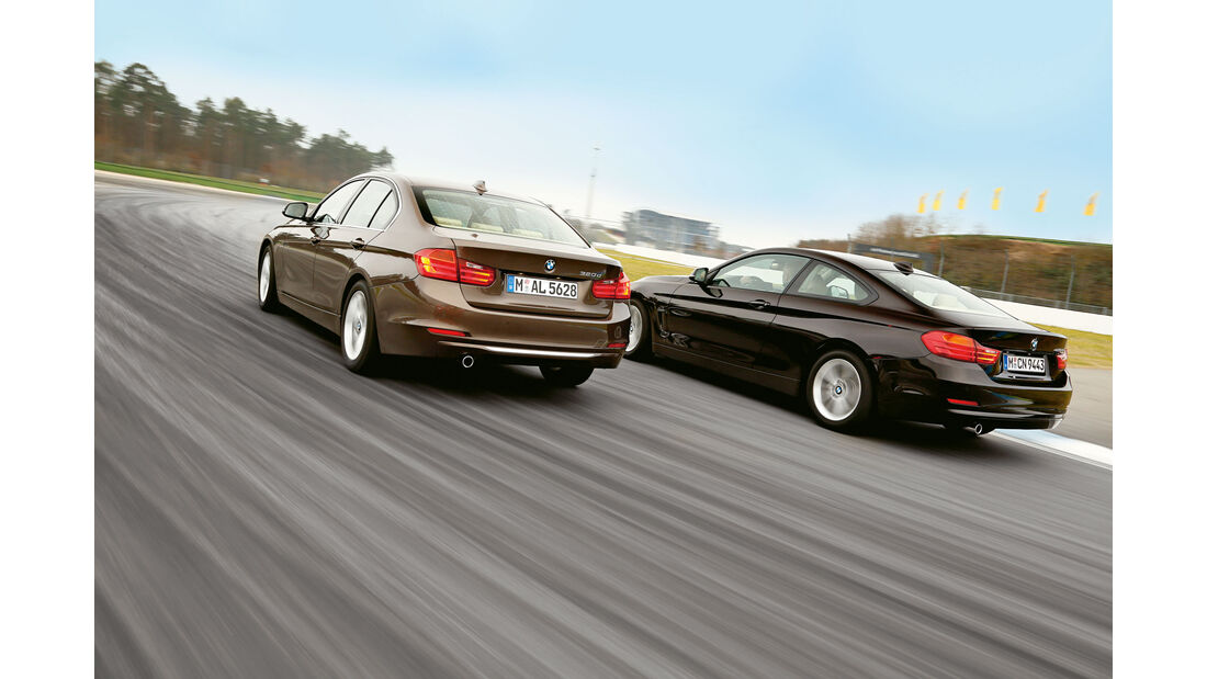 BMW 320d - BMW 420d - sport auto 07/2015