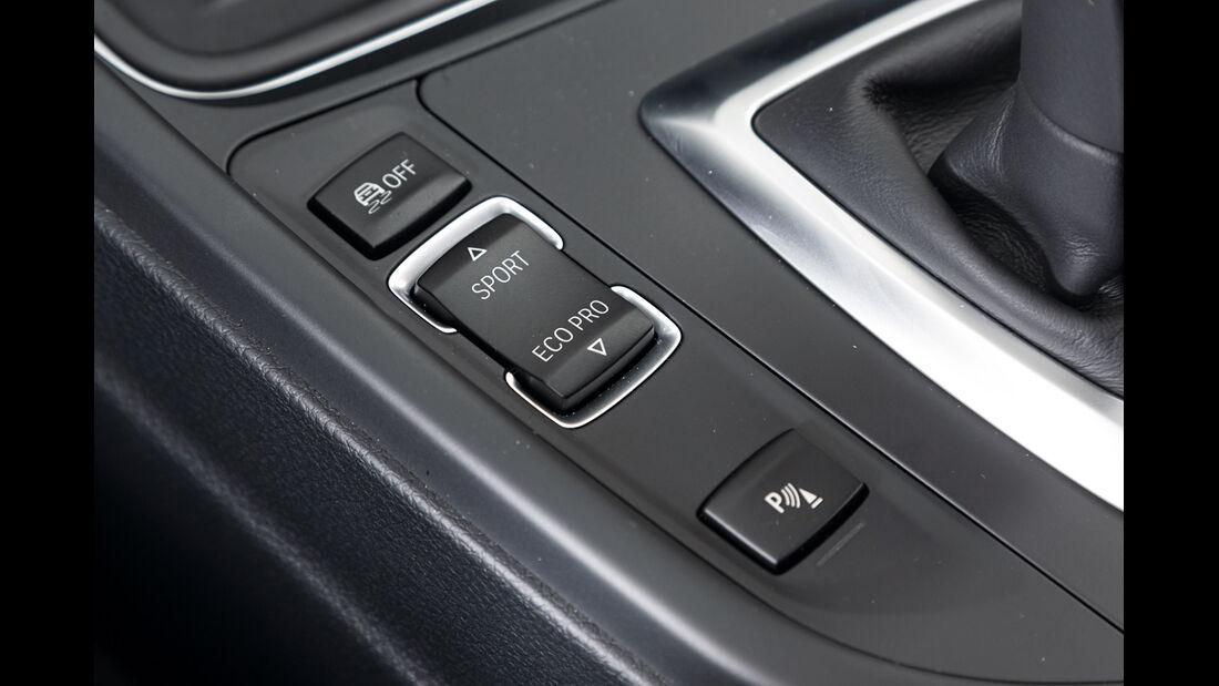 BMW 320d, Bedienelement