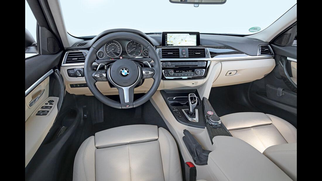 BMW 320d, Cockpit