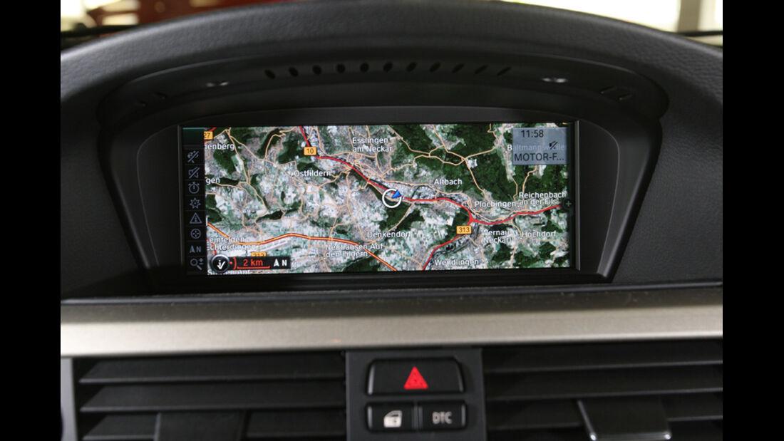 BMW 320d, Display