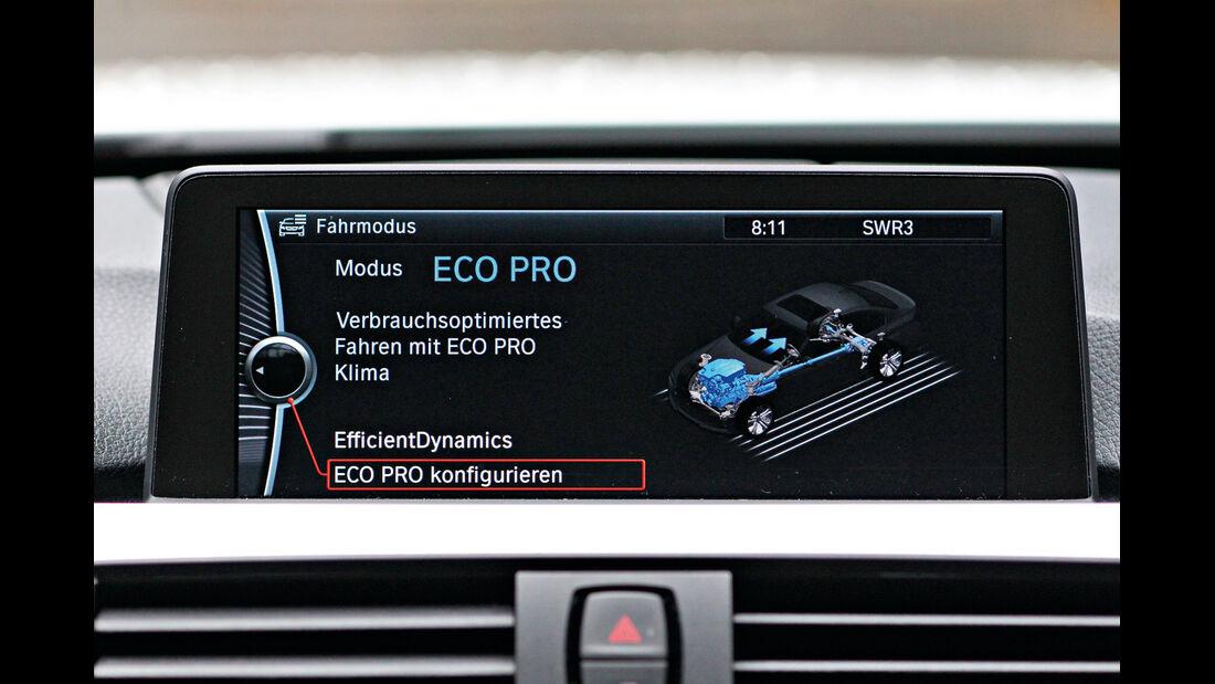 BMW 320d Efficient Dynamics Edition, Eco-Pro-Modus
