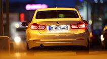 BMW 320d Efficient Dynamics Edition, Heckansicht