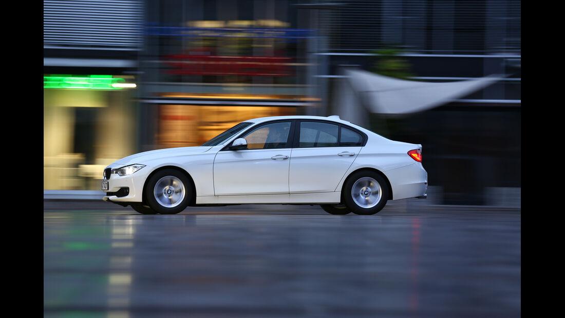 BMW 320d Efficient Dynamics Edition, Seitenansicht
