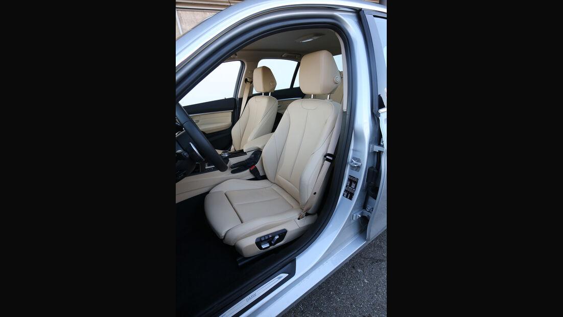 BMW 320d, Fahrersitz