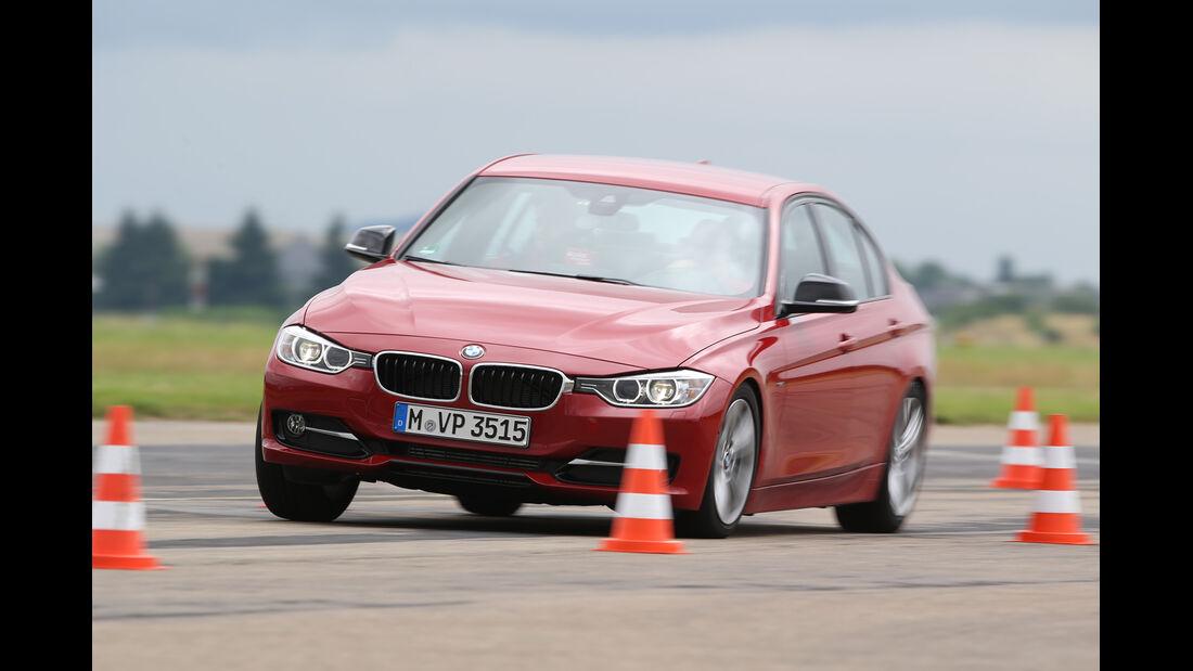 BMW 320d, Frontansicht, Fahrtest