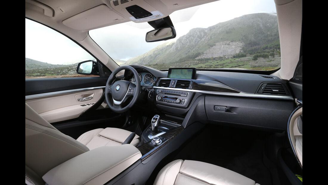 BMW 320d GT, Cockpit, Innenraum
