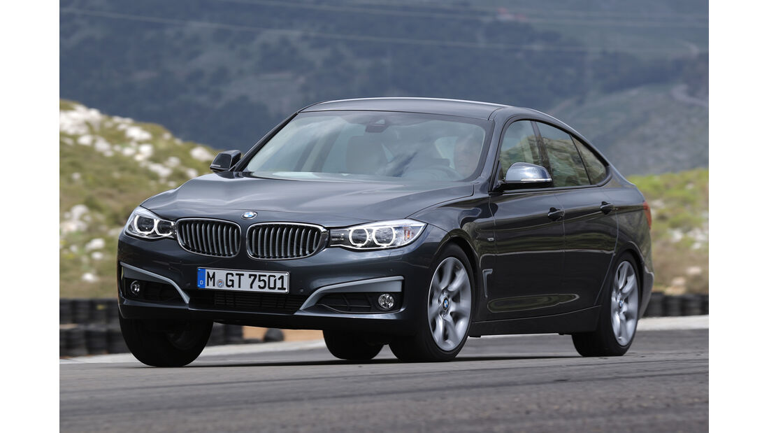 BMW 320d GT, Frontansicht