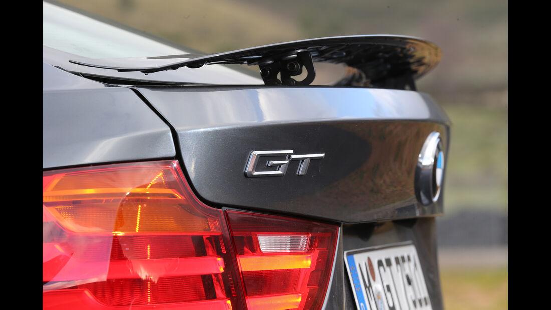 BMW 320d GT, Heckspoiler, Typenbezeichnung