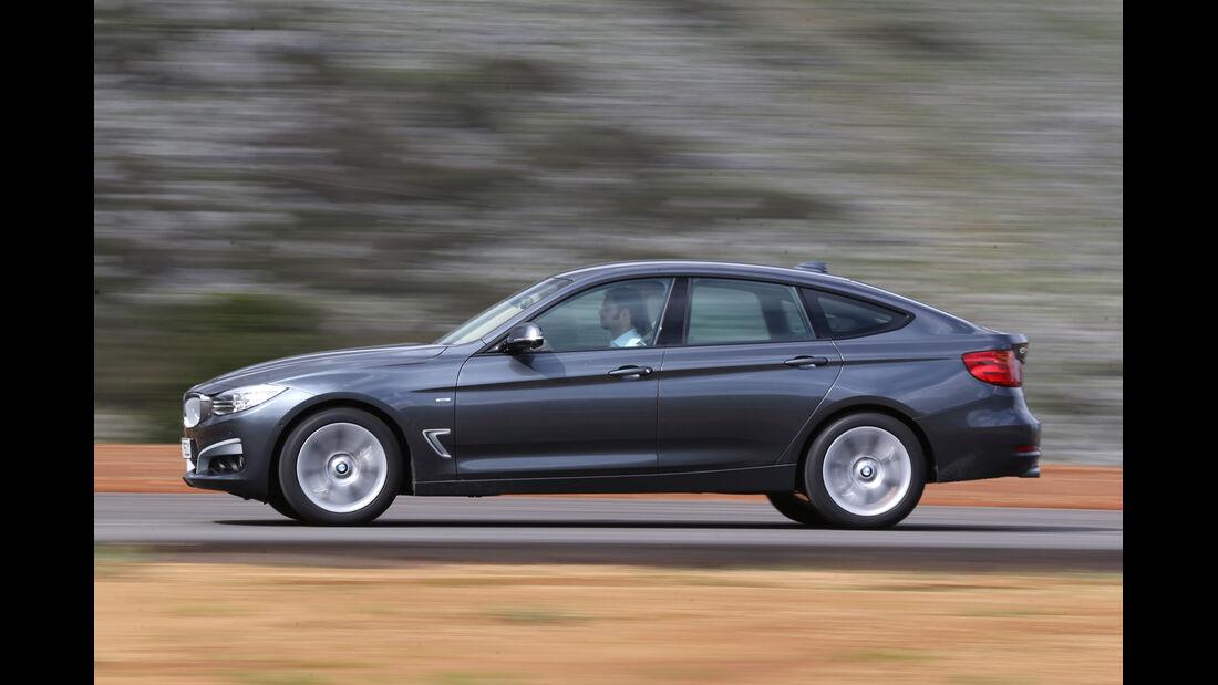 BMW 320d GT, Seitenansicht