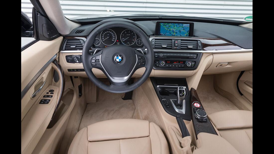 BMW 320d GT xDrive, Cockpit