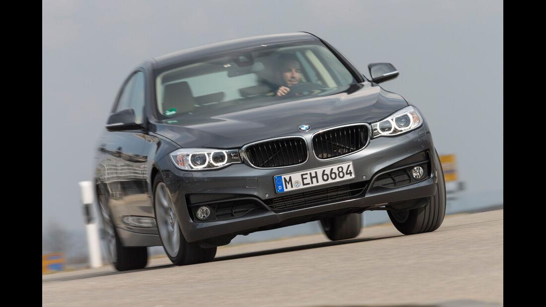 BMW 320d GT xDrive, Frontansicht