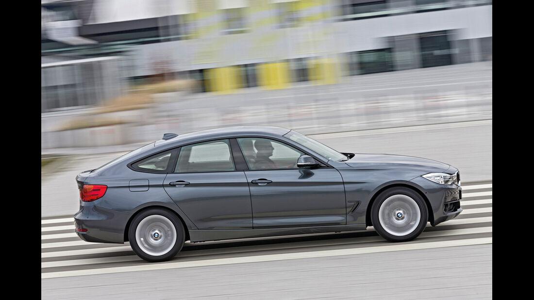 BMW 320d GT xDrive, Seitenansicht