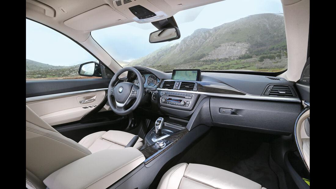 BMW 320d Gran Turismo, Cockpit, Innenraum