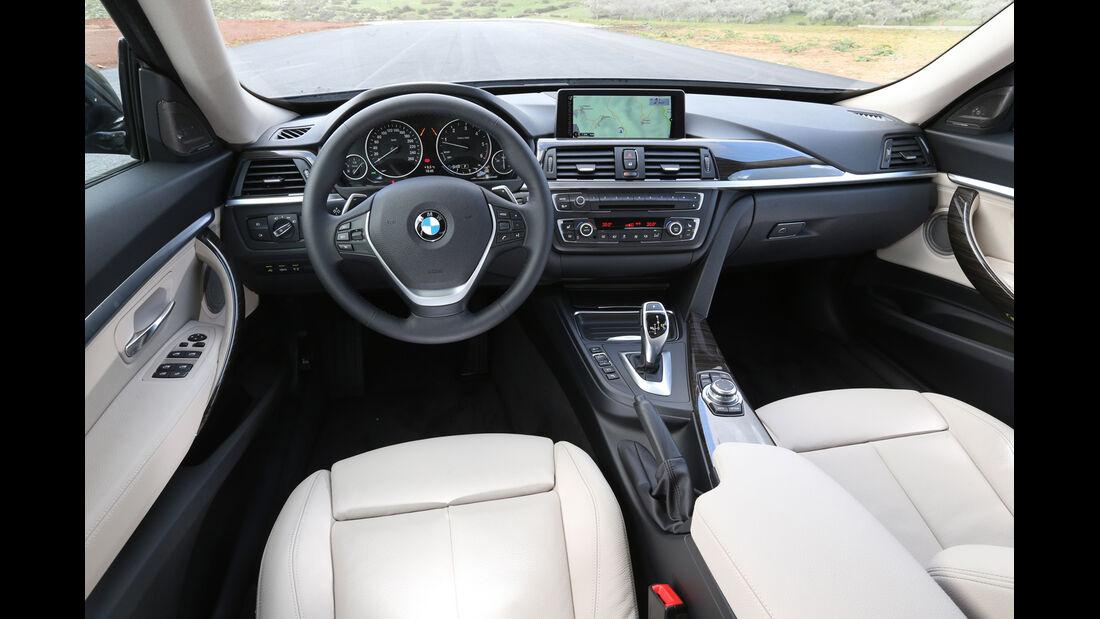 BMW 320d Gran Turismo, Cockpit, Lenkrad