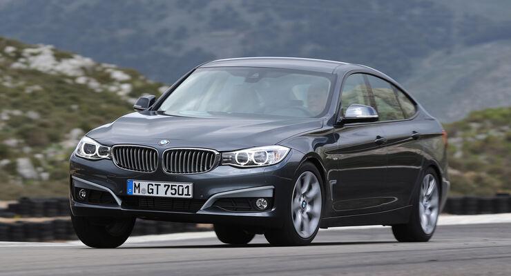 BMW 320d Gran Turismo, Frontansicht