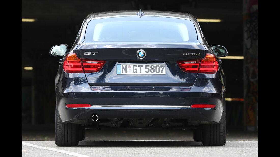 BMW 320d Gran Turismo, Heckansicht