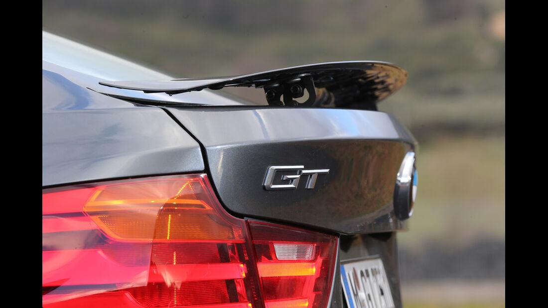 BMW 320d Gran Turismo, Heckspoiler, Heckschürze