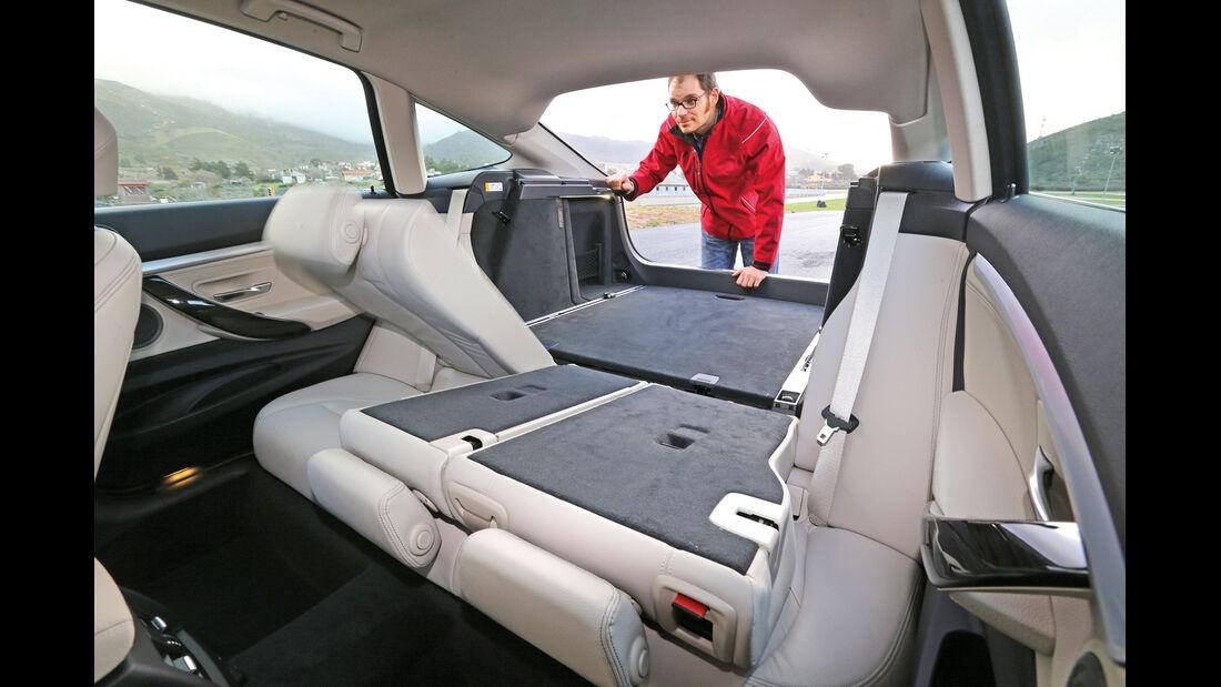 BMW 320d Gran Turismo, Ladefläche