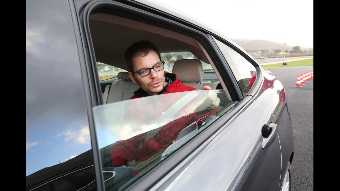 BMW 320d Gran Turismo, Seitenfenster