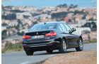 BMW 320d, Heckansicht