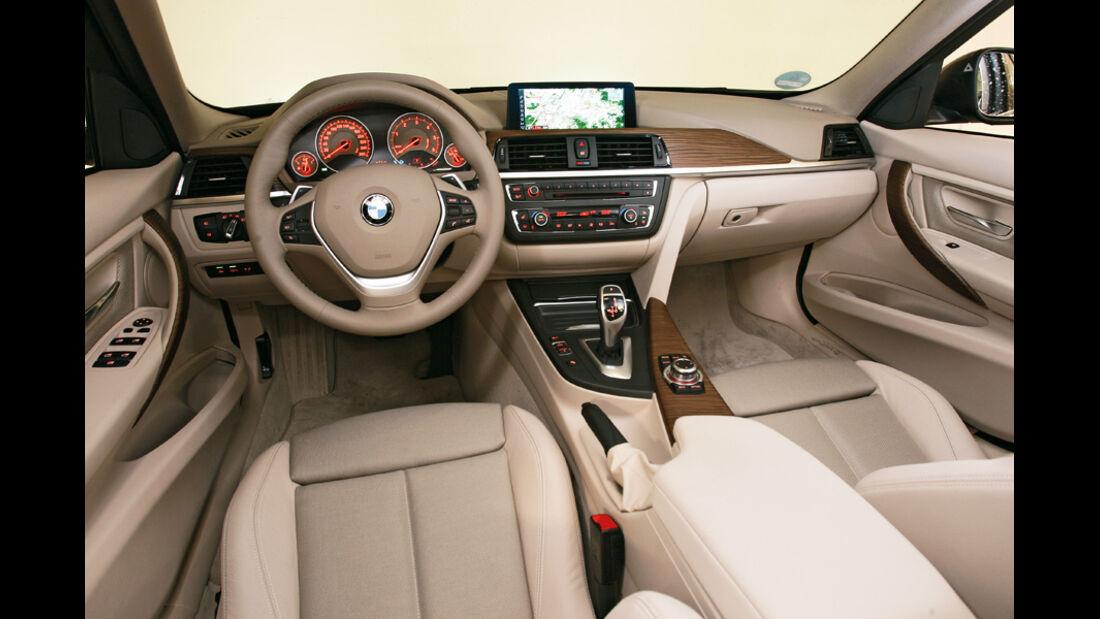 BMW 320d Modern Line, Cockpit, Fahrersitz