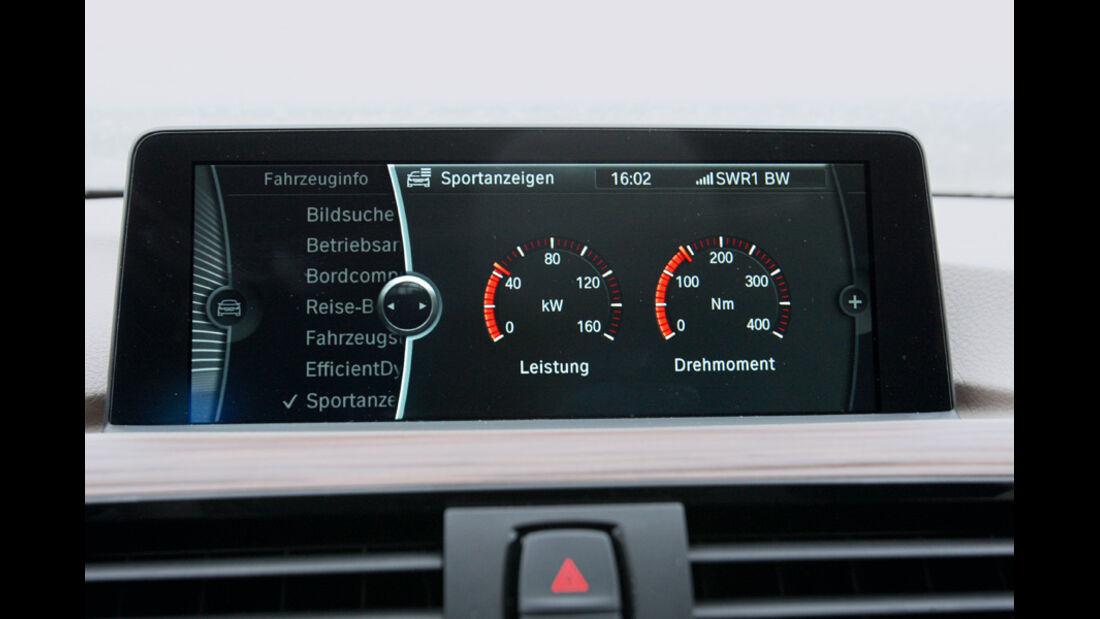 BMW 320d Modern Line, Display, Bildschirm