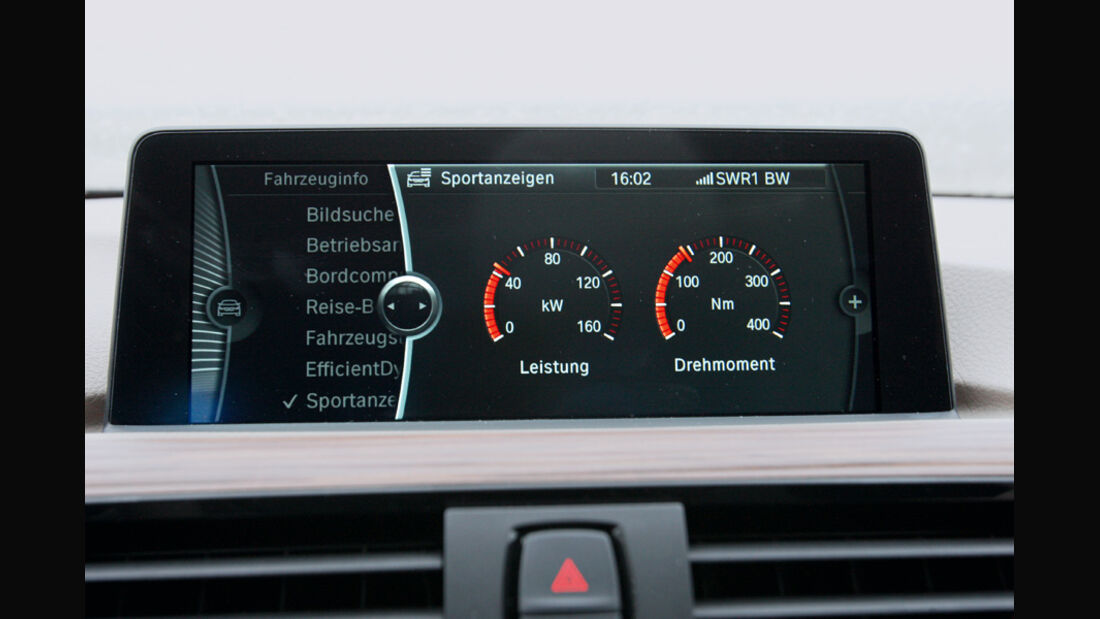 BMW 320d Modern Line, Display, Bildschirm
